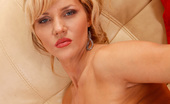 Anilos Zlata 22914 Classy milf Zlata stuffs two fingers deep in her matured pussy