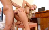 Anilos Vivien 22932 Anilos blonde Vivien receives a powerful reaming by a thick cock in her puckered tight milf asshole
