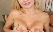 Anilos Viktoria 22938 Gorgeous mature Anilos Viktoria sheds her clothing and spreads her pussy