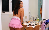 Anilos Vannah Sterling 22973 Flirty voluptuous woman flaunts her delectable mature body in front of the mirror