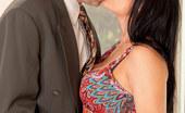 Anilos Vanilla Deville 22976 Busty milf Vanilla Deville gets nailed deep by her horny husband