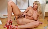 Anilos Vanessa Sweets 22978 Vanessa Sweets showcases her perfect tits and super hairy cougar pussy