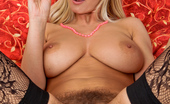 Anilos Vanessa Sweets 22981 Milf Vanessa Sweets pleasures her hairy bush pussy wearing stockings