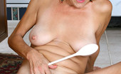 Anilos Vanessa 22989 Classy housewife Vanessa loves to appease her aching seasoned juice box with a ladle in the kitchen