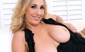 Anilos Sophia Jewel Seductive blonde cougar shows off her huge Anilos tits