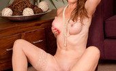 Anilos Sofia Rae 23116 Horny milf Sofia Rae teases her nipples and spreads her long legs