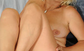 Anilos Sara Lynn Milf Sara Lynn exposes her mature tits and spreads her pink pussy
