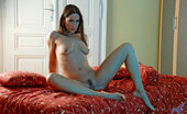 Anilos Pepper Seductive Anilos Pepper spreads her slippery wet cougar pussy in the privacy of her bedroom