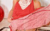 Anilos Jessie Fontana Seductive housewife Jessie Fontana spreads her pussy exposing her pink clitoris