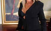 Anilos Jena Jackson Horny mature secretary flaunts her naked body atop her desk