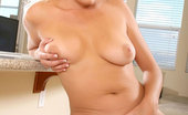 Anilos Jacy Andrews Gorgeous milf jacy andrews masages her colossal breasts and spreads her silky legs exposing her creamy pussy