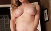 Anilos Indica Greenly Busty milf rides sybian sex machine for extra pussy pleasure
