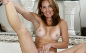 Anilos Crystal 24127 Brunette Anilos Crystal loves golf but she loves getting naked and showing her mature pussy more