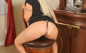 Anilos Chennin Blanc Lustful blonde Anilos exposes her beautiful pink milf clitoris