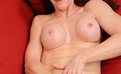 Anilos Catherine Desade Beautiful milf Catherine Desade uses her fingers to pleasure her cougar pussy