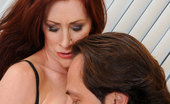 Anilos Catherine Desade Catherine Desade sucks a huge cock and gets fucked hard in the kitchen by her husband