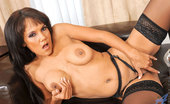 Anilos Anjanette Astoria Busty Anilos Anjanette Astoria teases her mature pussy with her fingers