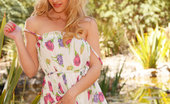 Twistys Sophia Knight Sophia Knight doesn't hesitate to strip out of her clothes outdoors