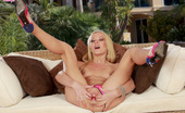 Twistys Logan Logan fucks her pussy with her toy until she reaches her climax