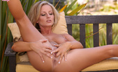 Twistys Melissa XoXo Melissa XoXo stimulates her wet pussy outdoors
