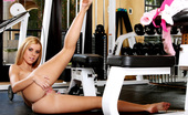Twistys Jessie Rogers Jessie Rogers gives her pussy a stimulating workout