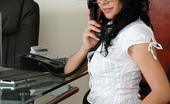 Twistys Rebecca Linares Rebecca Linares is a sexy secretary