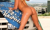 Twistys Bree Olson Bree gets horny from car wash.