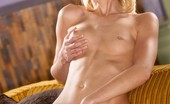 Twistys Nevah Nevah enjoys rubbing her pussy.