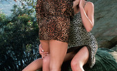 Twistys Penny Flame Penny Flame in lesbian dildo action