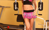 Twistys Anita Pearl Anita Pearl has a sexy workout