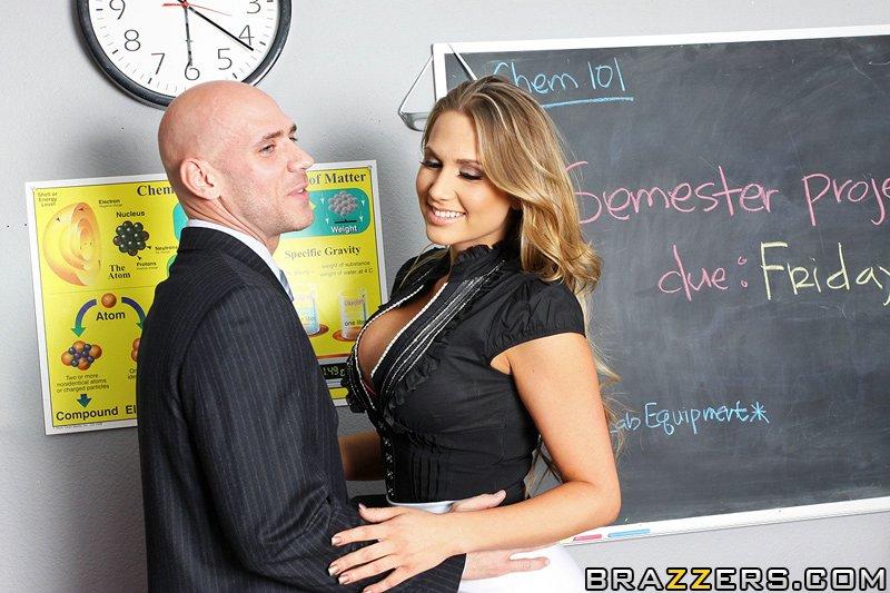 Teacher Seduces Student Cock