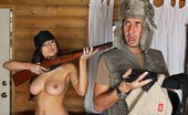 Brazzers Amy Ried I Will Hunt Your Cock Amy and Keiran are in a hunting competition. Their goal is to bag the biggest buck, until Amy change...