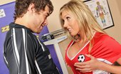 Brazzers Samantha Saint Suck-Sex in Soccer Samantha's soccer team is far from the best, but they've got two secret weapons: her big, juicy tits...