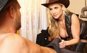 Brazzers Alanah Rae Fistful Of Pussy Alanah is a dirty, sexy Bounty Hunter and she's set to take down the meanest dirtbag in the Wild Wes...