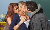Brazzers Brynn Tyler,Monique Alexander New School Lesson 30182 Until today, Brynn only attended private school with all her rich little girlfriends. That's why she...