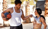 Brazzers Valerie Kay Let's Play Whore 30232 Athletic babe Valerie is about to play a game of HORSE when her friend, Ramon, decides to make the r...