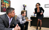 Brazzers Phoenix Marie Horny Dean Teachers Mick and Erik are two student fuckers. What they didn't expect is to get caught by the Dean...