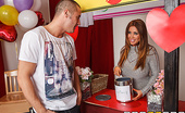 Brazzers Kianna Dior Mommy Mans the Kissing Booth For her Valentine's fundraiser, Ms. Kianna Dior's daughter is manning a kissing booth. Kianna is han...