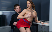 Brazzers Chanel Preston ZZInc's Corporate Orifice What makes ZZInc's employees the happiest in the world? Their fuck-friendly office has a healthy ben...
