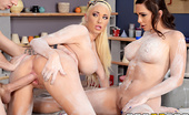 Brazzers Summer Brielle,Destiny Dixon One Thing on Their Minds Destiny Dixon and her friend Summer Brielle wanted to try something new, so they signed up for a lit...