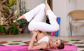 Brazzers Mia Malkova White Yoga Pants 31613 Mia Malkova was doing her daily yoga workout with her trainer Cody Sky, but after all that stretchin...