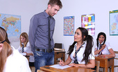 Brazzers Anissa Kate French Exam 31625 Professor Danny D is supervising the French exam at the St. Brazzers Hall Boarding School, when he n...