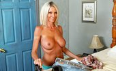 Brazzers Emma Starr My Wood's Hard Emma is on a family vacation at a summer cottage, but her family is no where to be found. Feeling al...