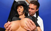 Brazzers Ava Addams Police Boobality 32000 Ava Addams is one corrupt police officer. While visiting a strip club to pick up her monthly