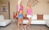 Reality Kings  Breanna and her smokin girl gets pounded hard and creamed allover their faces