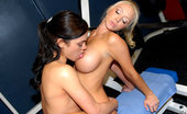Reality Kings reese Amazing hot fucking big titts alyssa reese and molly cavalli fuck eachother hard in these gym floor high school fucking lesbian hot pics