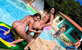 Reality Kings fernanda 2 hot ass fucking brazil bikini babes get fucked in their assholes and creamed on their faces in these hot poolside 4some fucking update