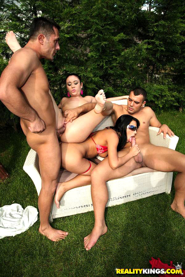 Reality Kings Teen Foursome