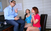Reality Kings tweety Check these 2 smoking hot teenie babes get fucked by the school principal hot office fucking teen 3some