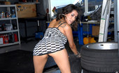 Reality Kings ada Beautiful smoking hot ass fucking babe nailed hard in an auto shop hot latina fuck pics